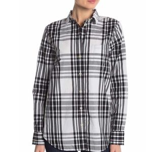 J. Crew Plaid Relaxed Shirt